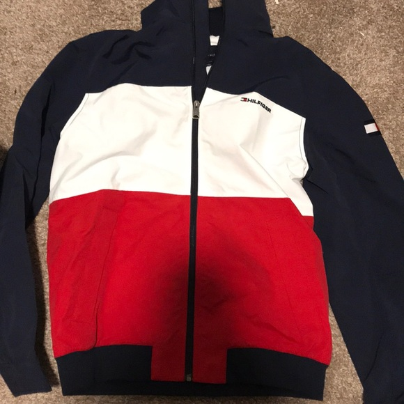 dffc4b6e Tommy Hilfiger Jackets & Coats | Brand New Mens Windbreaker | Poshmark